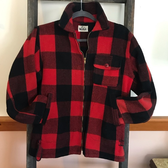 d79813460b791 Vintage Woolrich Buffalo Plaid Hunting Jacket. M_5c7575f40945e0d574114022